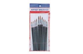 FINE ART BRUSHES SET/12